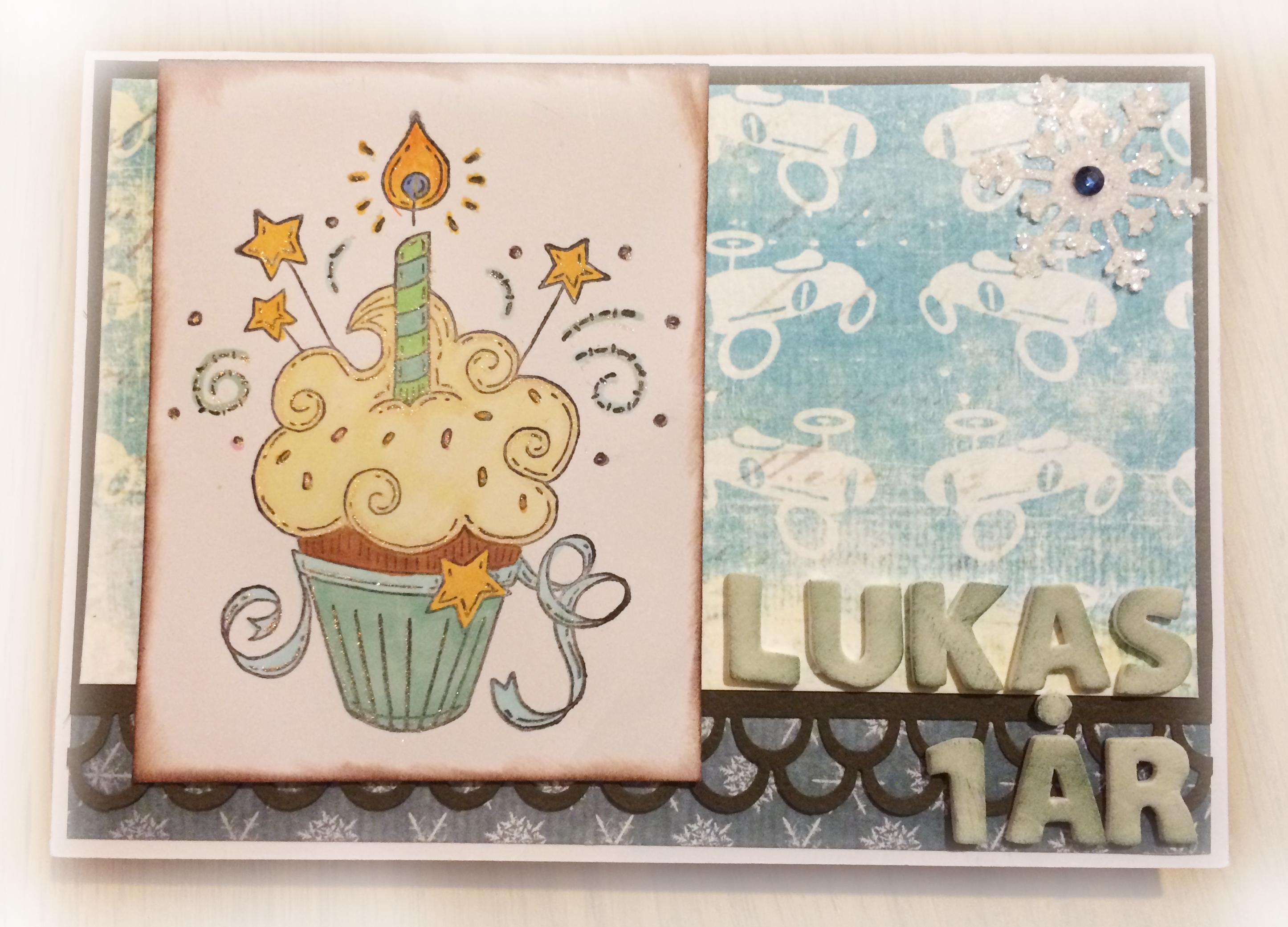 Födelsedagskort, Lukas