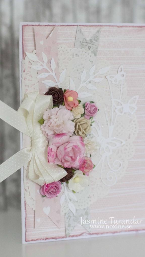 2015 06 Rosa Spets, bröllopskort 2