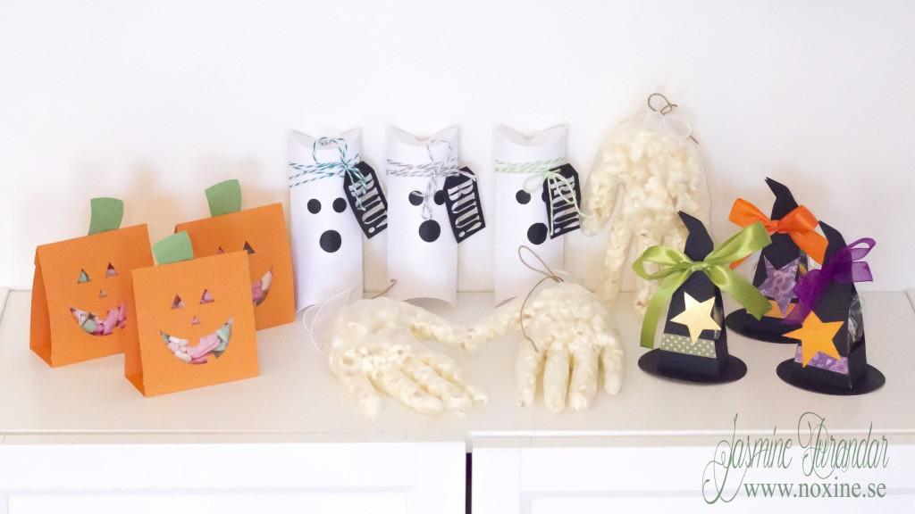 2015 10 Halloweenpyssel Snacksförpackningar