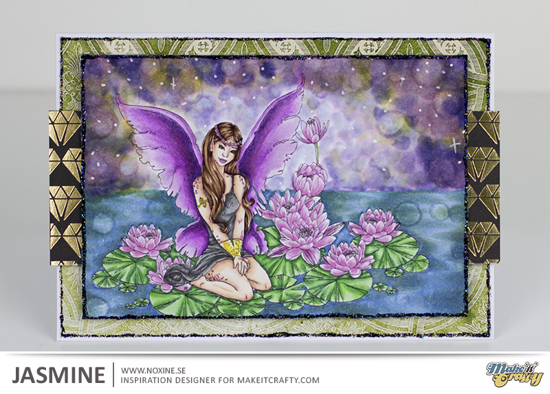Noxine 2016 04 Make it Crafty- Lilli Faye on Lotus Bloom 3